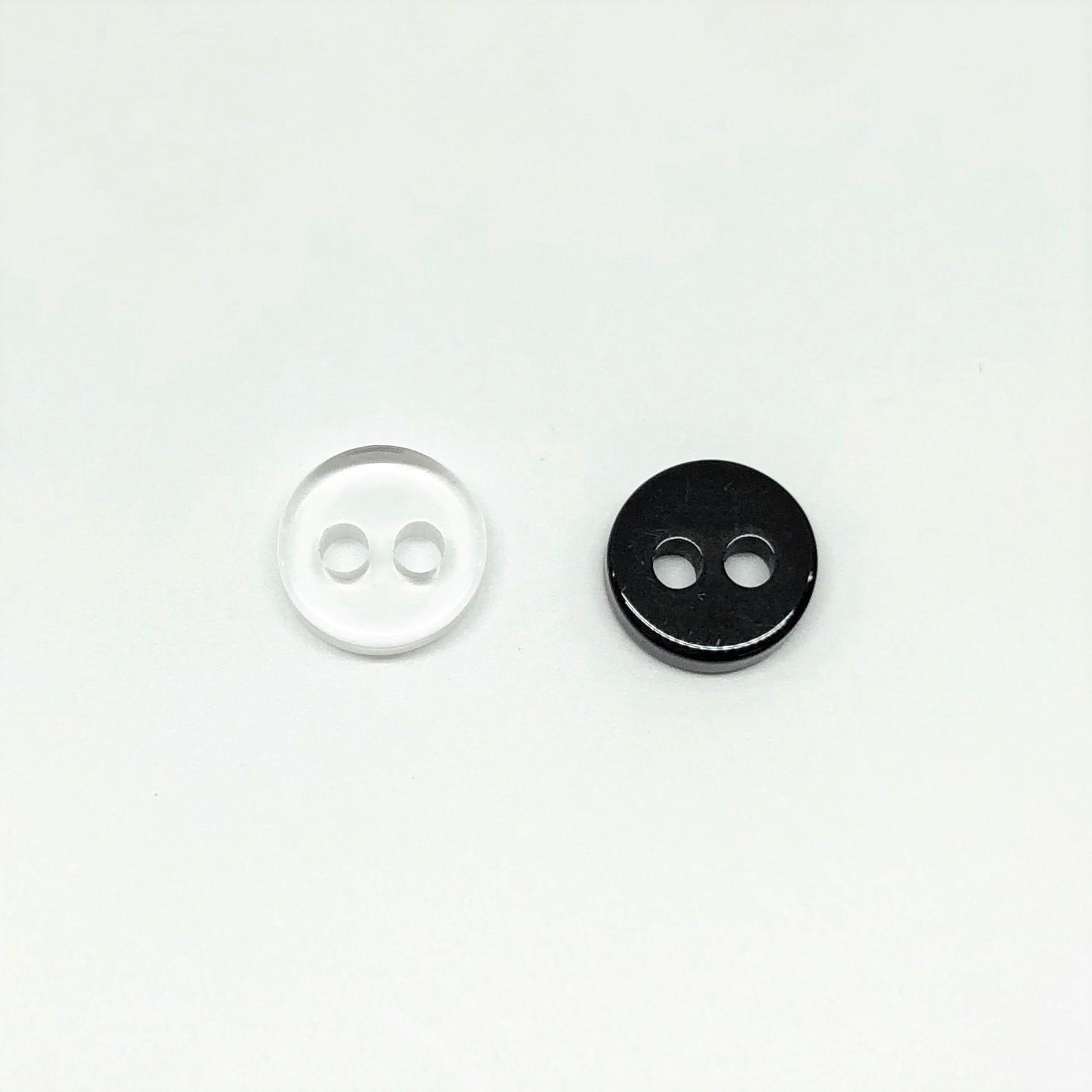 2H-P 2つ穴力ボタン 大阪プラスチック工業(DAIYA BUTTON)/オークラ商事 - ApparelX アパレル資材卸通販
