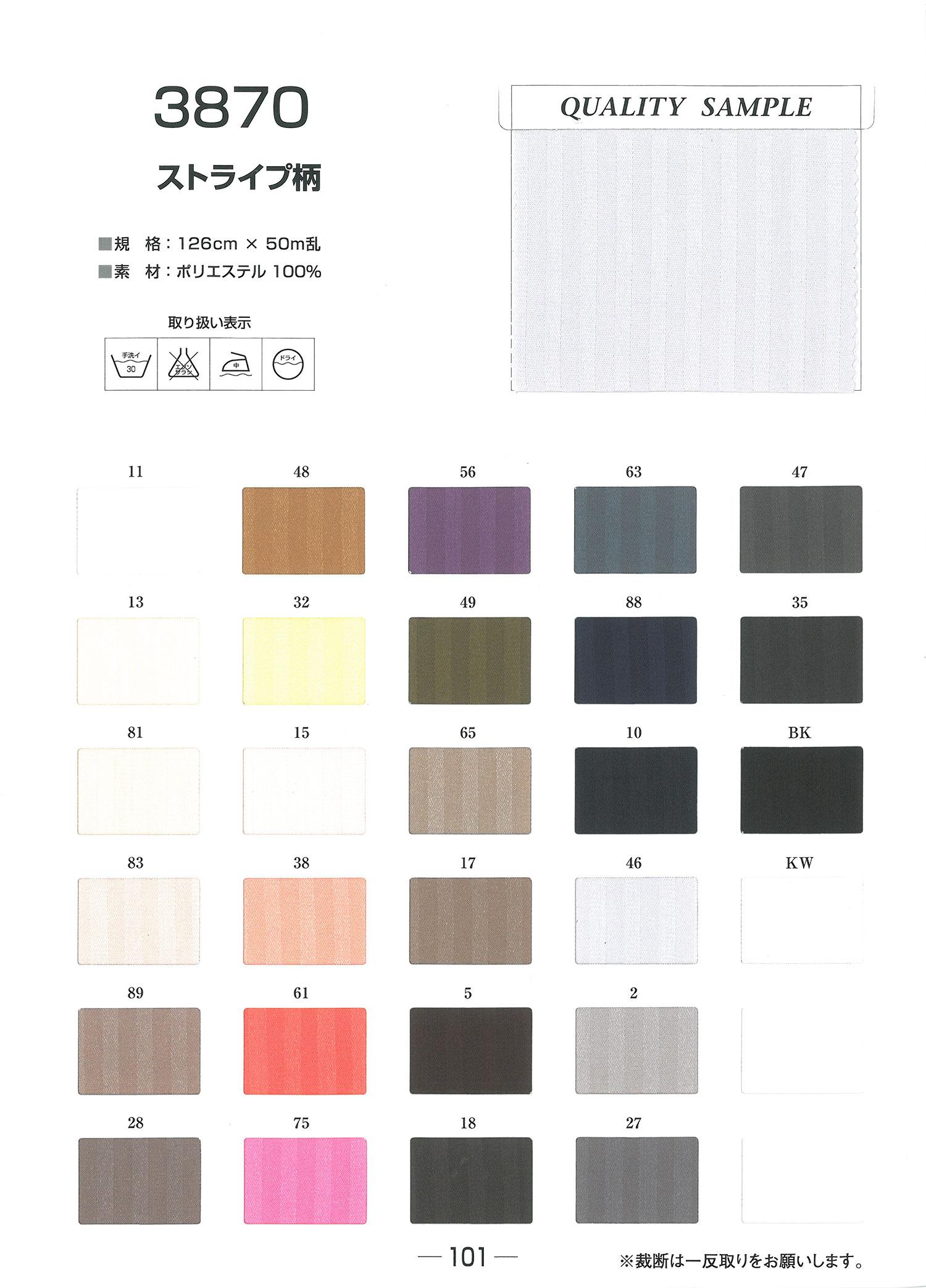 3870 ストライプ柄 ジャガード裏地 東レ/オークラ商事 - ApparelX アパレル資材卸通販