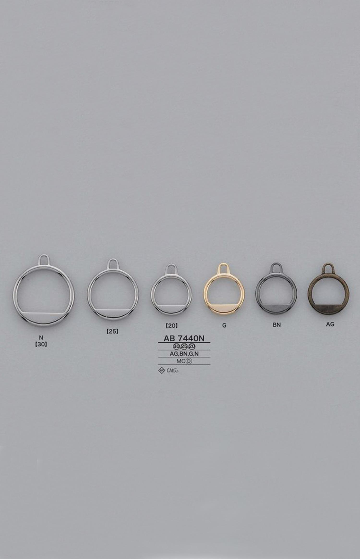 AB7440N ファスナーポイント(引き手) アイリス/オークラ商事 - ApparelX アパレル資材卸通販