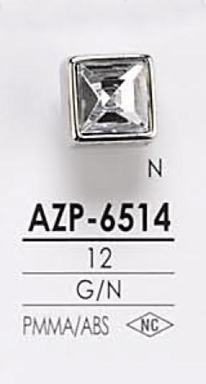 AZP6514 クリスタルストーン ボタン アイリス/オークラ商事 - ApparelX アパレル資材卸通販