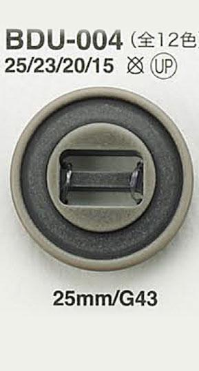 BDU004 パラシュートボタン アイリス/オークラ商事 - ApparelX アパレル資材卸通販