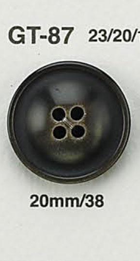GT87 貝調ボタン アイリス/オークラ商事 - ApparelX アパレル資材卸通販