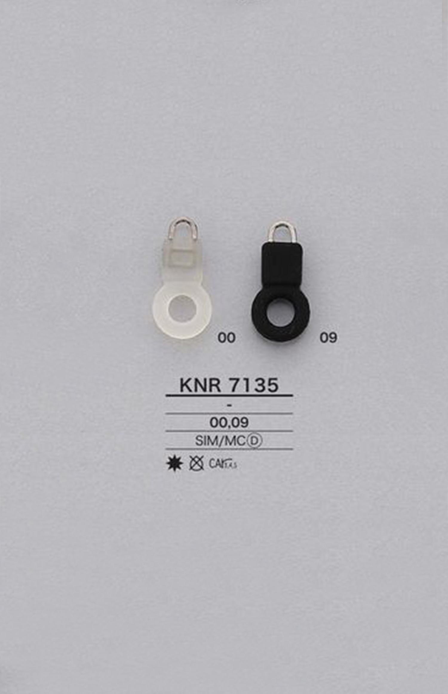 KNR7135 シリコンリング ファスナーポイント(引き手) アイリス/オークラ商事 - ApparelX アパレル資材卸通販