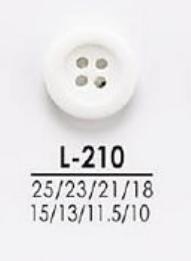 L210 シャツからコートまで 染色用ボタン アイリス/オークラ商事 - ApparelX アパレル資材卸通販