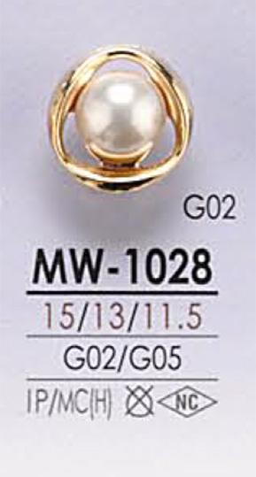 MW1028 パール調 ボタン アイリス/オークラ商事 - ApparelX アパレル資材卸通販