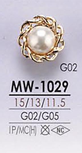 MW1029 パール調 ボタン アイリス/オークラ商事 - ApparelX アパレル資材卸通販