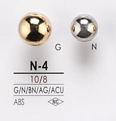 N4 メタルボタン アイリス/オークラ商事 - ApparelX アパレル資材卸通販