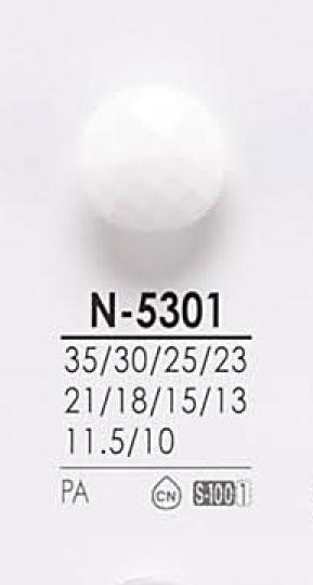 N5301 染色用ボタン アイリス/オークラ商事 - ApparelX アパレル資材卸通販