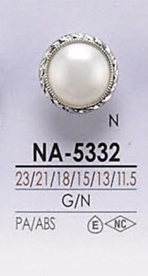 NA5332 染色用 パール調 ボタン アイリス/オークラ商事 - ApparelX アパレル資材卸通販