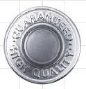 NP1 GHQ 固定式刻印ジーンズネオバーボタン トップ[ドットボタン・ハトメ] モリト(MORITO)/オークラ商事 - ApparelX アパレル資材卸通販