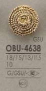 OBU4638 メタルボタン アイリス/オークラ商事 - ApparelX アパレル資材卸通販