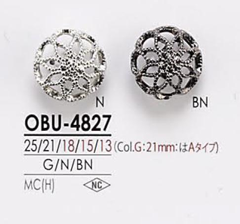 OBU4827 メタルボタン アイリス/オークラ商事 - ApparelX アパレル資材卸通販