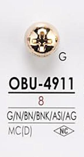 OBU4911 ネジモチーフ メタルボタン アイリス/オークラ商事 - ApparelX アパレル資材卸通販
