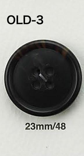 OLD3 水牛調ボタン アイリス/オークラ商事 - ApparelX アパレル資材卸通販