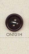 ONT01H 天然素材 コロゾ ナット 4つ穴 ボタン 大阪プラスチック工業(DAIYA BUTTON)/オークラ商事 - ApparelX アパレル資材卸通販