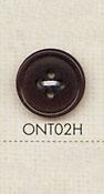 ONT02H 天然素材 コロゾ ナット 4つ穴 ボタン 大阪プラスチック工業(DAIYA BUTTON)/オークラ商事 - ApparelX アパレル資材卸通販