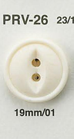 PRV26 水牛調ボタン アイリス/オークラ商事 - ApparelX アパレル資材卸通販