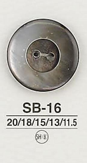 SB16 貝ボタン アイリス/オークラ商事 - ApparelX アパレル資材卸通販