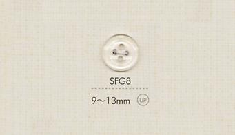 SFG8 DAIYA BUTTONS クリアボタン 大阪プラスチック工業(DAIYA BUTTON)/オークラ商事 - ApparelX アパレル資材卸通販