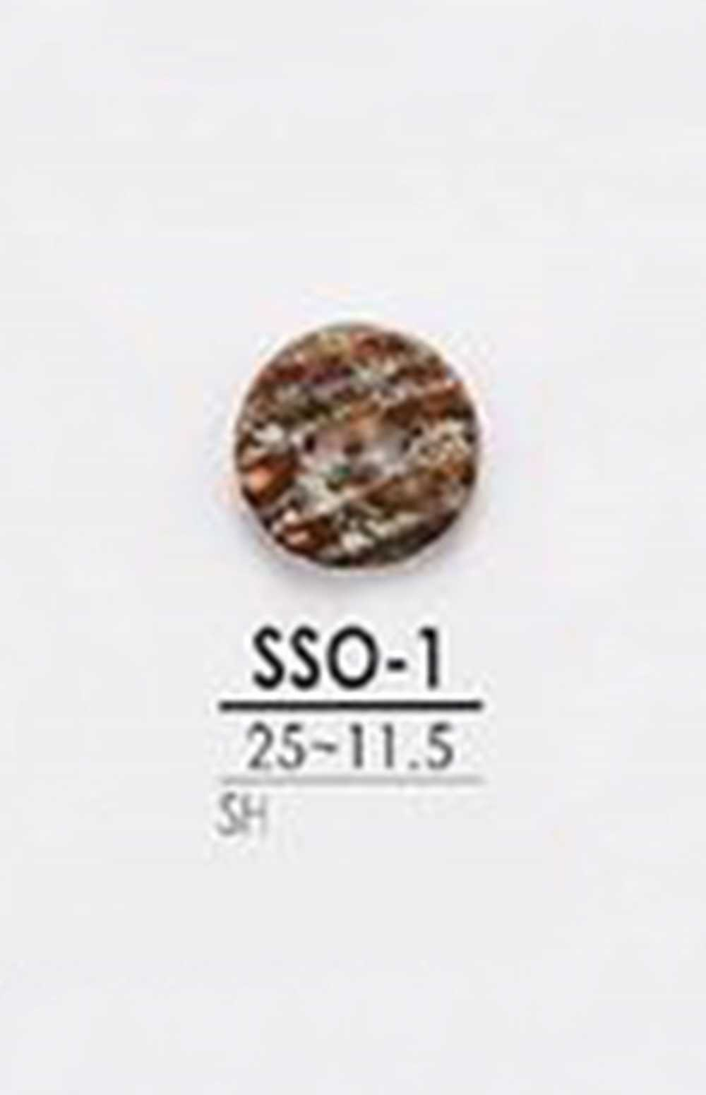 SSO1 2つ穴つや有り貝ボタン アイリス/オークラ商事 - ApparelX アパレル資材卸通販