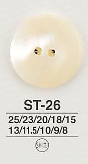 ST26 貝ボタン アイリス/オークラ商事 - ApparelX アパレル資材卸通販