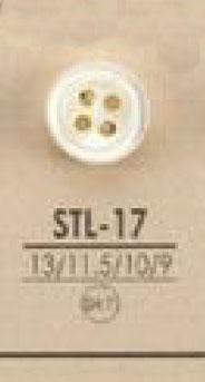STL17 天然素材 厚型 4つ穴 貝 シェル ボタン アイリス/オークラ商事 - ApparelX アパレル資材卸通販