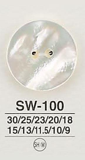SW100 貝ボタン アイリス/オークラ商事 - ApparelX アパレル資材卸通販