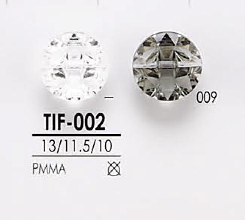 TIF002 ダイヤカット ボタン アイリス/オークラ商事 - ApparelX アパレル資材卸通販