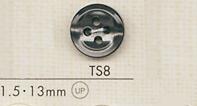 TS8 DAIYA BUTTONS 貝調ポリエステルボタン 大阪プラスチック工業(DAIYA BUTTON)/オークラ商事 - ApparelX アパレル資材卸通販