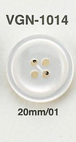VGN1014 貝調ボタン アイリス/オークラ商事 - ApparelX アパレル資材卸通販