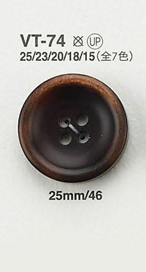 VT74 アイリッシュ・オールド[ボタン] アイリス/オークラ商事 - ApparelX アパレル資材卸通販