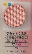 フラット フラットくるみボタン アイリス/オークラ商事 - ApparelX アパレル資材卸通販