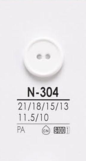 N304 染色用ボタン アイリス/オークラ商事 - ApparelX アパレル資材卸通販