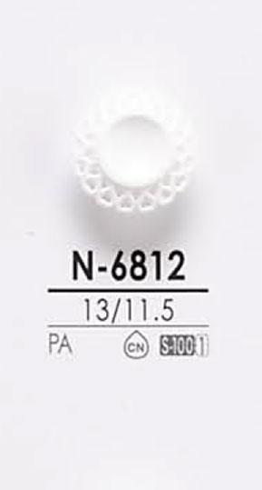 N6812 染色用ボタン アイリス/オークラ商事 - ApparelX アパレル資材卸通販