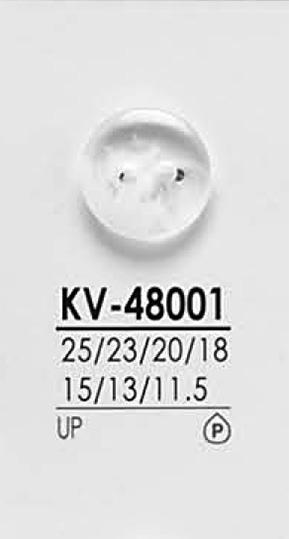 KV48001 黒色&染色用 シャツボタン アイリス/オークラ商事 - ApparelX アパレル資材卸通販