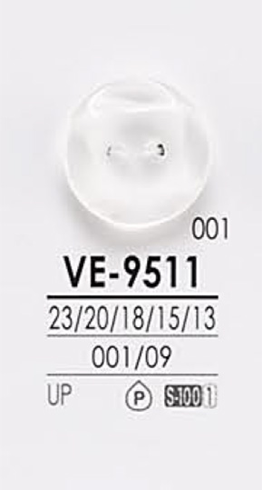 VE9511 黒色&染色用 シャツボタン アイリス/オークラ商事 - ApparelX アパレル資材卸通販