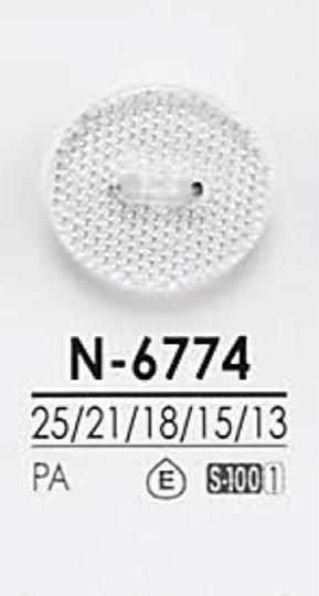 N6774 染色用 ダイヤカット ボタン アイリス/オークラ商事 - ApparelX アパレル資材卸通販