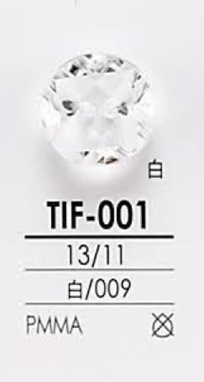 TIF001 ダイヤカット ボタン アイリス/オークラ商事 - ApparelX アパレル資材卸通販