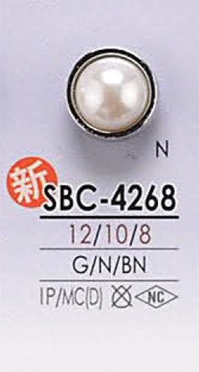 SBC4268 パール調 ボタン アイリス/オークラ商事 - ApparelX アパレル資材卸通販