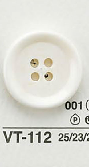 VT112 水牛調ボタン アイリス/オークラ商事 - ApparelX アパレル資材卸通販
