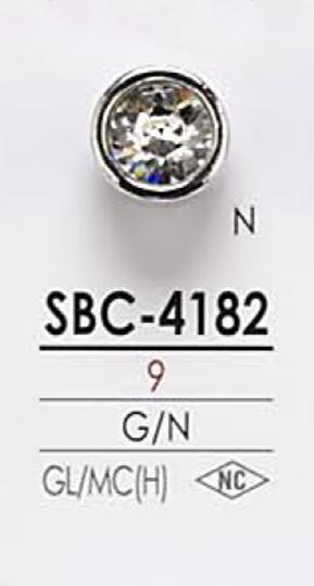 SBC4182 クリスタルストーン ボタン アイリス/オークラ商事 - ApparelX アパレル資材卸通販