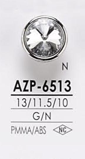AZP6513 クリスタルストーン ボタン アイリス/オークラ商事 - ApparelX アパレル資材卸通販