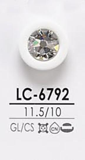 LC6792 染色用 クリスタルストーン ボタン アイリス/オークラ商事 - ApparelX アパレル資材卸通販