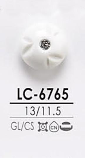 LC6765 染色用 ピンカール調 クリスタルストーン ボタン アイリス/オークラ商事 - ApparelX アパレル資材卸通販
