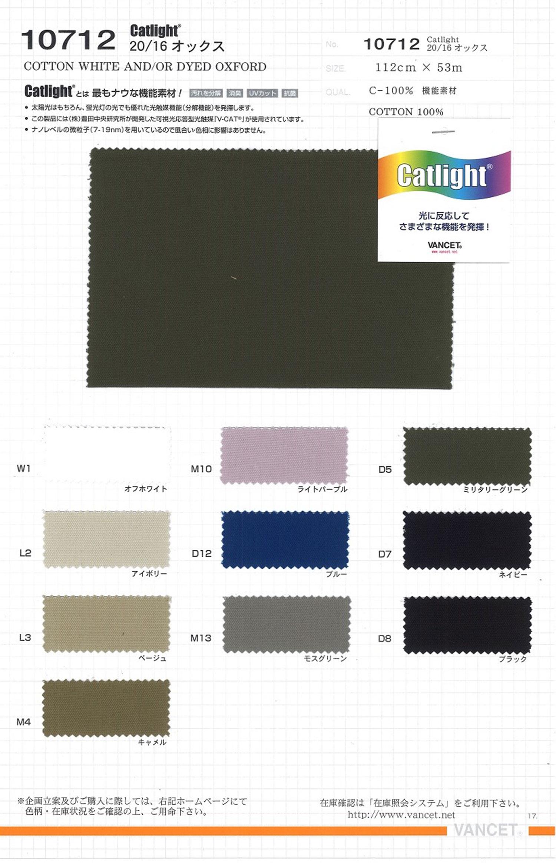 10712 20/16オックス[生地] VANCET/オークラ商事 - ApparelX アパレル資材卸通販