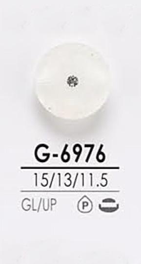 G6976 染色用 ピンカール調 クリスタルストーン ボタン アイリス/オークラ商事 - ApparelX アパレル資材卸通販