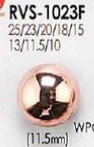 RVS1023F シャイニーカッパー ボタン アイリス/オークラ商事 - ApparelX アパレル資材卸通販