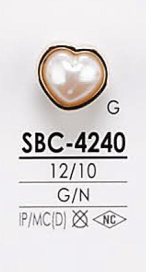 SBC4240 ハート型 メタルボタン アイリス/オークラ商事 - ApparelX アパレル資材卸通販