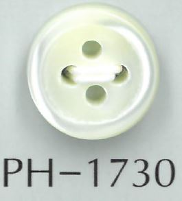 PH1730 17型3mm厚貝ボタン 阪本才治商店/オークラ商事 - ApparelX アパレル資材卸通販
