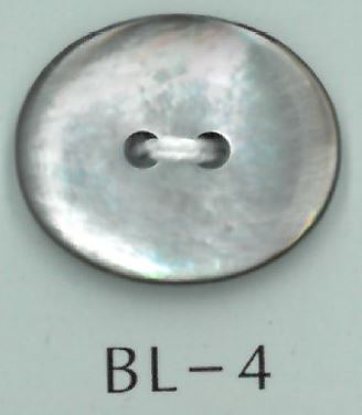 BL-4 2穴楕円貝ボタン 阪本才治商店/オークラ商事 - ApparelX アパレル資材卸通販